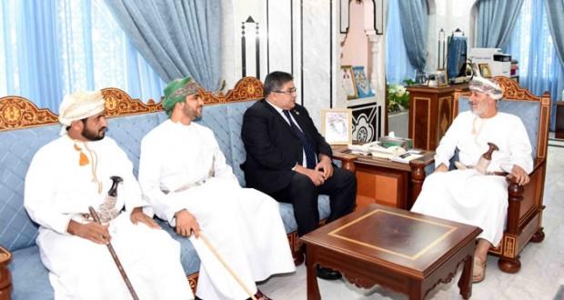 وزير الدولة ومحافظ ظفار يستقبل الرئيس الإقليمي للأولمبياد الخاص الدولي لمنطقة الشرق الأوسط وشمال إفريقيا