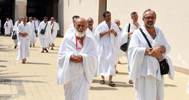 السعودية : تفويج 114 ألف حاج من المدينة إلى المشاعر المقدسة بمكة