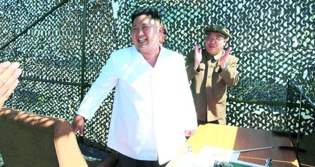 بيونج يانج تعلن نجاح تجربة محرك جديد لصاروخ بالستي