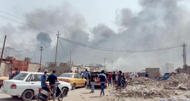 العراق : عشرات القتلى والجرحى بسقوط قذائف وهجوم للإرهابيين