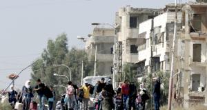 تركيا تدفع بقواتها إلى غرب سوريا وتقول إنها بصدد تحسين العلاقات
