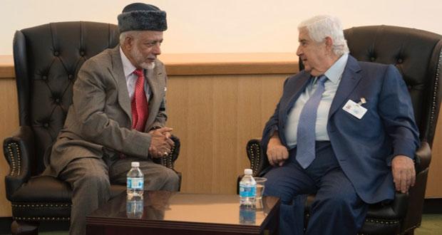 السلطنة تبحث تعزيز أواصر العلاقات والتعاون مع عدد من الدول وتناقش أوضاع المنطقة