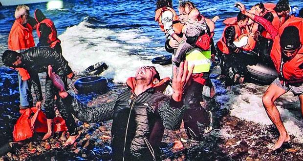 آريس ميسينيس يفوز بالجائزة الذهبية لأفضل صورة إخبارية