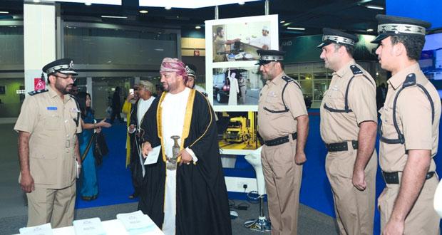 انطلاق معرضي الشـرق الأوسط للمواصلات والخدمات اللوجستية وعمان للأمن والسلامة والحرائق