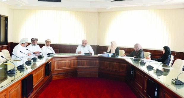 مناقشة آخر الاستعدادات لتنظيم منتدى استثمر في عمان