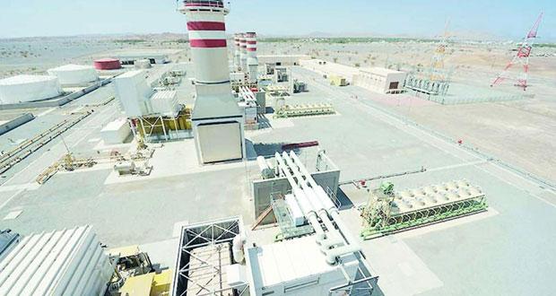 أكثر من 15.8 ألف جيجا واط في الساعة إنتاج السلطنة من الكهرباء في يونيو الماضي