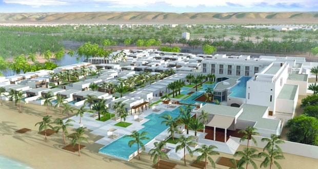 """الفريق التنفيذي لـ """"عمران"""" يبحث تطوير المشاريع السياحية المتكاملة والفنادق بمحافظة ظفار"""