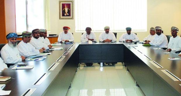 اجتماع اللجنة الفنية لمشروع البنية الوطنية للمعلومات الجغرافية