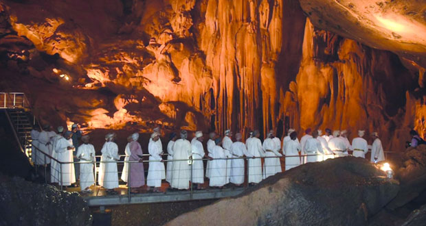 افتتاح «كهف الهوتة» رسميا أمام الزوار