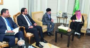 (وزاري التعاون) يناقش أوضاع سوريا واليمن مع واشنطن ولندن وباريس