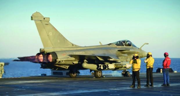 فرنسا تدشن عملية الموصل بغارات من شرق المتوسط