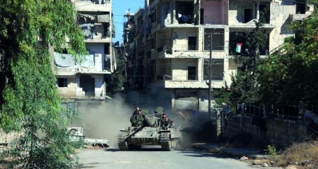 حلب الكبرى: الجيش السوري يدخل منطقة سليمان الحلبي ويقطع خطوط إمداد للإرهابيين