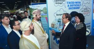 وزير الخدمة المدنية يفتتح مؤتمر ومعرض عمان الدولي السادس للصحة بمركز عمان الدولي للمعارض