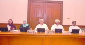 لجنة الصداقة البرلمانية العمانية ـ الأردنية تناقش أوضاع الطلبة العمانيين الدارسين بالأردن