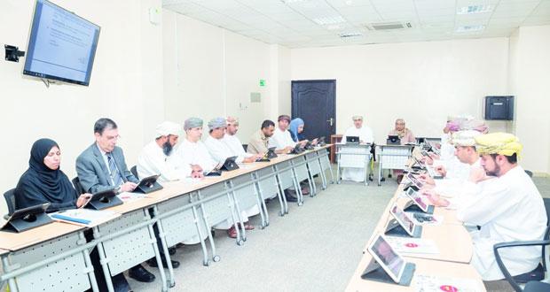 المجلس التنفيذي للمجلس العماني للاختصاصات الطبية يناقش وضع البرامج الطبية من أجل تطوير دورها فـي مجال تدريب الأطباء المقيمين