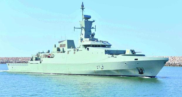 البحرية السلطانية العمانية تنفذ التمرين البحري المشترك «أسد البحر2»