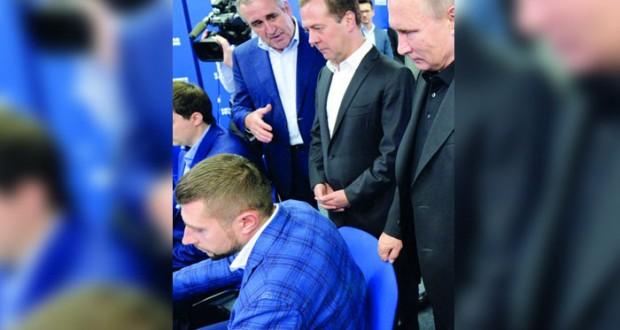 (روسيا الموحدة) يكتسح (الدوما) وبوتين يعزز زعامته ويستعد لـ(الولاية الرابعة)