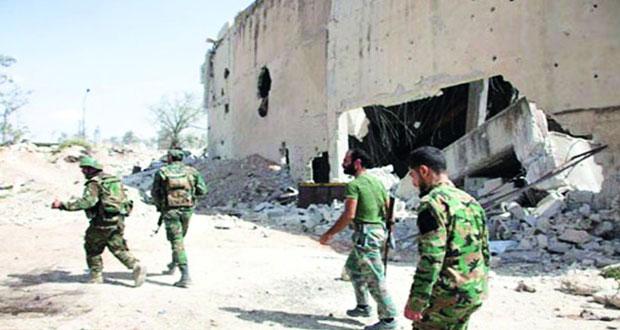 الجيش السوري يطهر أحياء حلب المحررة ويحبط هجوما إرهابيا بريف حمص