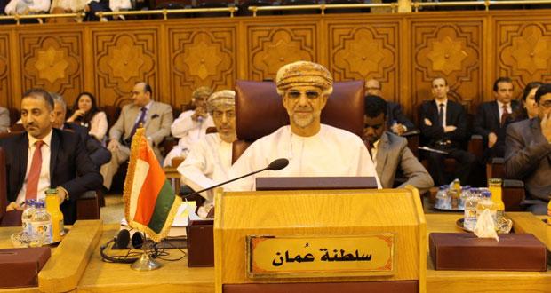 السلطنة تشارك في اجتماعات الدورة الـ١٤٦ لمجلس جامعة الدول العربية