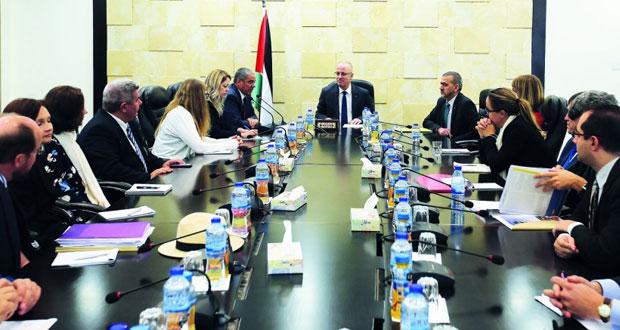 فلسطين تطلع الاتحاد الأوروبي على انتهاكات الاحتلال