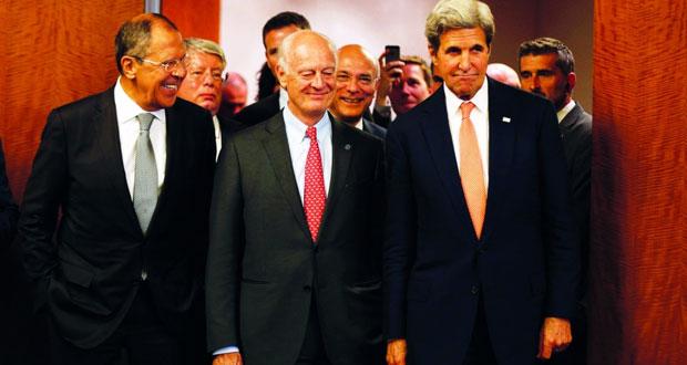 سوريا : خطة روسية أميركية تبدأ بهدنة غدا .. وتعاون عسكري مشروط بصمودها