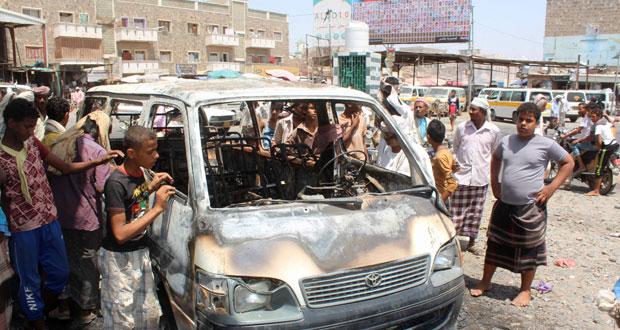 اليمن: قتلى وجرحى عسكريون بانفجار (ناسفة) في لحج