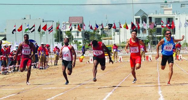 في دورة الألعاب الشاطئية بفيتنام.. الحارثي يهدي السلطنة أولى الميداليات بذهبية سباق 60 مترا القدم يتأهل بفوزه على قطر