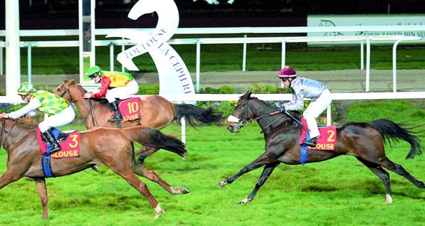 كريمة للخيالة السلطانية تفوز بسباق كاستيرا فيدوزان الفرنسي