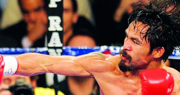 تقدم الملاكم باكياو في العمر يثير قلق مدربه