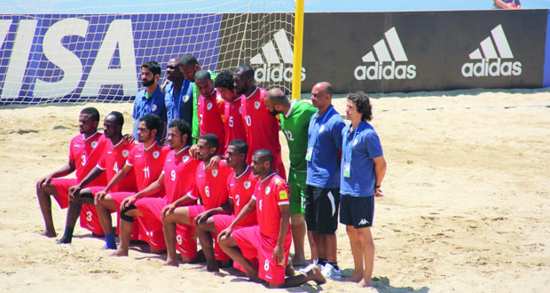 منتخبنا للشواطئ في كرة القدم يستعد للبطولة الآسيوية