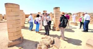 قرابة 54 ألف زائر لأرض اللبان بأغسطس