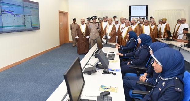 افتتاح قيادة شرطة محافظة جنوب الباطنة