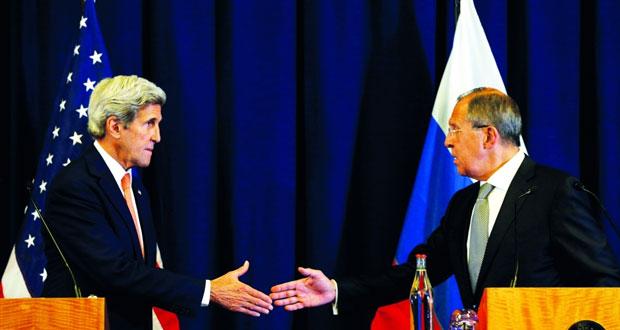 اتفاق روسي أميركي لوقف النار فـي سوريا يبدأ سريانه غدا .. ودمشق ترحب