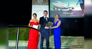 الطيران العُماني أفضل شركة طيران في أوروبا والشرق الأوسط وأفريقيا