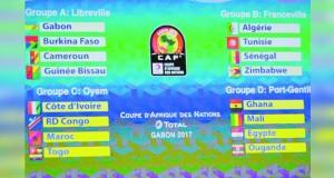 الجزائر وتونس في مجموعة نارية والفراعنة تصطدم بالنجوم والأسود تتحدى الأفيال