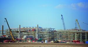 استكمال 80% من أعمال المرحلة الأولى لمشروع حقل خزان