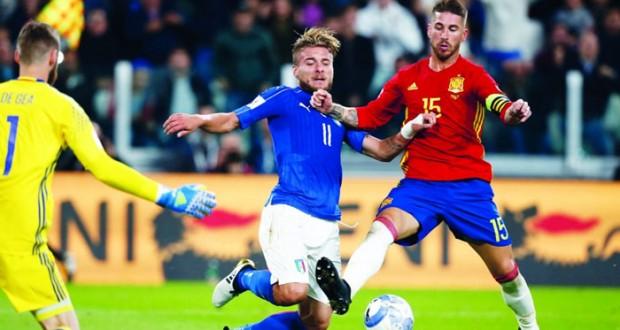 إيطاليا تعادل أسبانيا وكرواتيا تضرب بقوة وفوز قاتل لايسلندا وتركيا تفلت من الخسارة