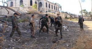 الجيش السوري يتقدم بريف دمشق ويسقط 49 إرهابيا بين قتيل وجريح في عمليات بحلب