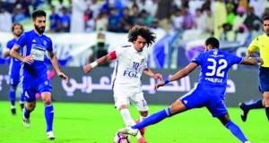 العين يهزم النصر ويصعد للمركز الرابع في الدوري الإماراتي