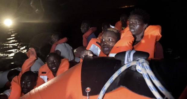 سلطات اليونان تنقذ عشرات المهاجرين في (إيجه)