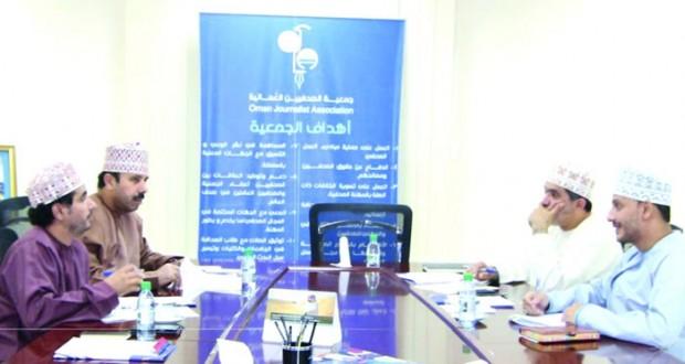 اللجنة المشتركة لجمعيات الكتاب والصحفيين والسينمائيين تناقش إعادة تجهيز القاعة المتعددة الأغراض بالمبنى
