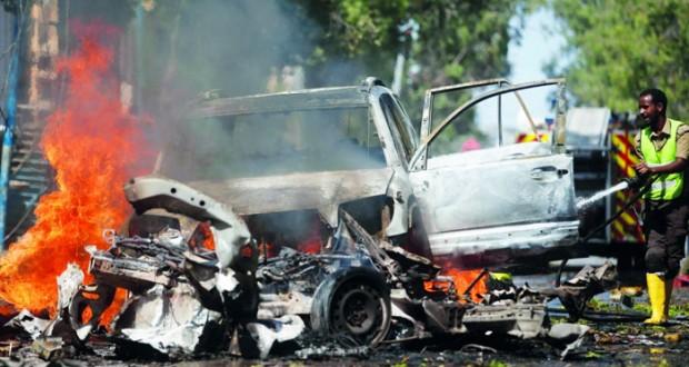 الصومال : تفجير انتحاري لـ(الشباب) يسقط 3 قتلى