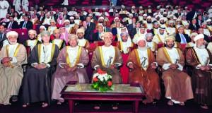 هيثم بن طارق يفتتح أعمال المؤتمر السابع لرؤساء المحاكم العليا فـي الدول العربية