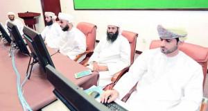 لجنة التصفيات الأولية لمسابقة السلطان قابوس للقرآن الكريم الـ (26) تختتم زياراتها بمركز معهد العلوم الاسلامية بمسقط