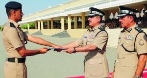 أكاديمية السلطان قابوس لعلوم الشرطة تحرز المركز الأول في مسابقة الشرطة للمشاة الخامسة