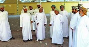 حقوق الإنسان تزور قرية كمزار بخصب