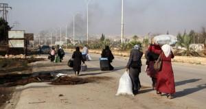 الجيش السوري يتقدم بريف دمشق والإرهابيون يقصفون حي الحمدانية في حلب بالغازات السامة