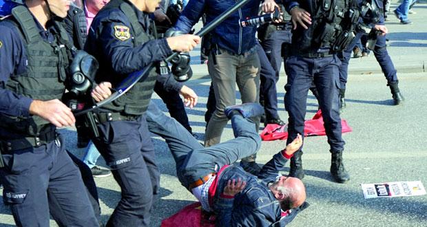 تركيا : مواجهات في ذكرى اعتداء أنقرة الدموي لـ(داعش)