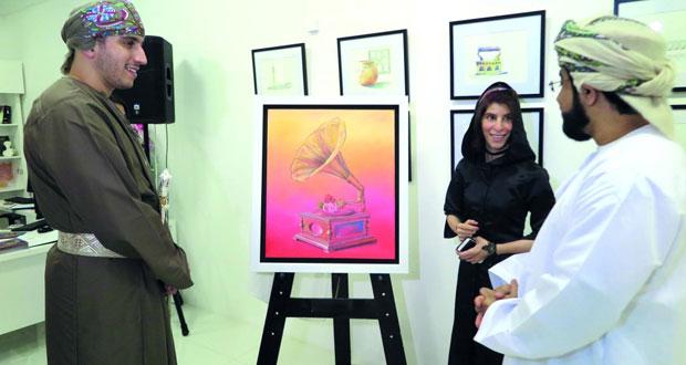 """""""لحن الجمال"""" المعرض الشخصي الأول للتشكيلية ريا المنجية بجاليري سارة"""