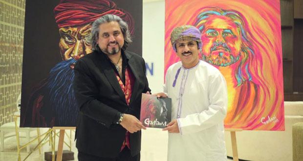 التشكيلي إبراهيم جيلاني يدشن كتابه «جيلاني .. رحلة فنية»
